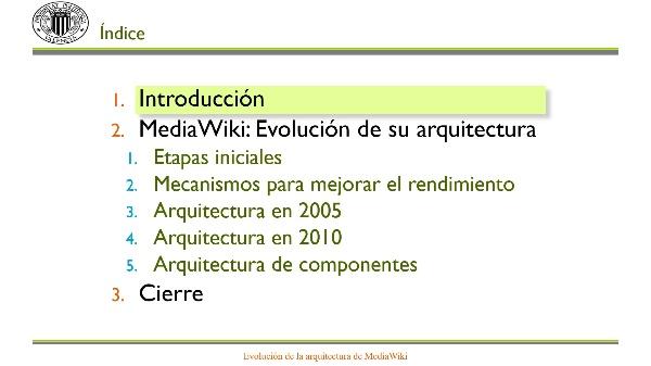 MediaWiki: Evolución de su arquitectura