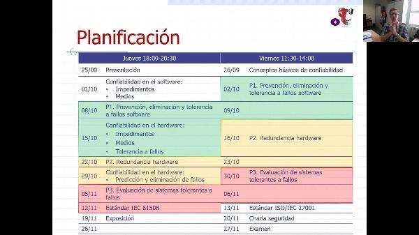 SSC - Presentación - Prácticas y seminarios