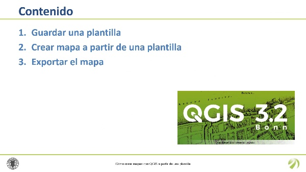 Cómo crear mapas con QGIS a partir de una plantilla