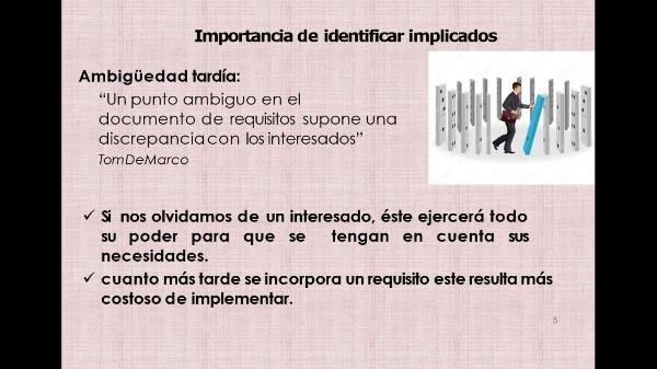 (Gestión de Proyectos) Tema 3: PROCESO. Identificar las Partes Interesadas