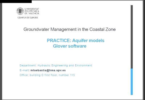 Glover Practice