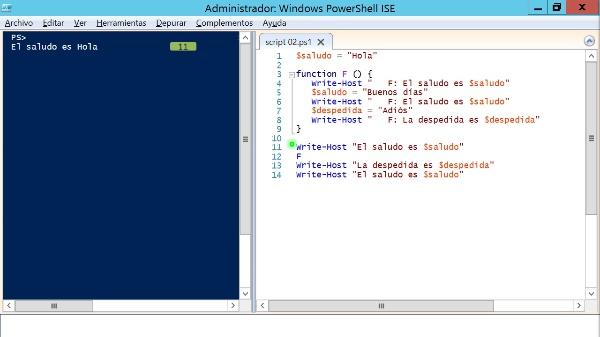 PowerShell: Introducción a los ámbitos de variables