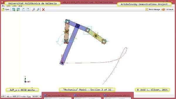 Simulación Mecanismo a-c-0658 con Mechanica - 02 de 16 - Parametrización