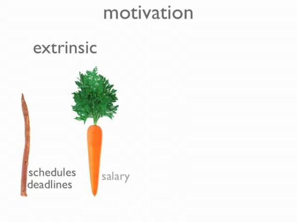 Motivación extrínseca-intrínseca