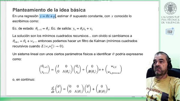 Identificación+observación estados mediante Filtro de Kalman extendido (1, planteamiento del problema y modelado)