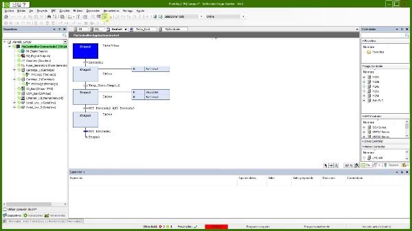 Verificar un automatismo con SoMachine V4.3