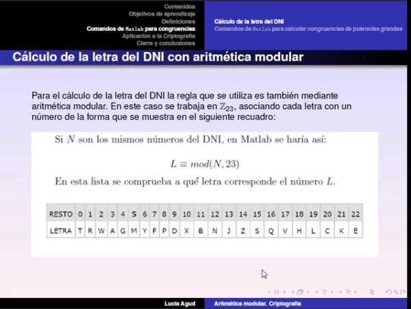 Aritmética modular parte 2: congruencias con Matlab