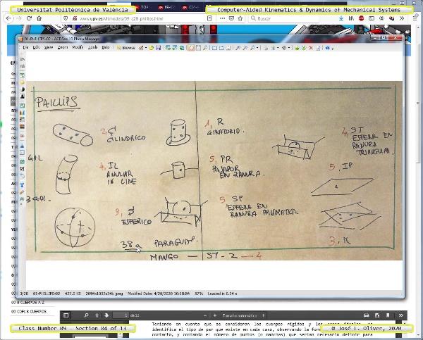 Mecánica y Teoría de Mecanismos ¿ 2020 ¿ MM - Clase 09 ¿ Tramo 04 de 13