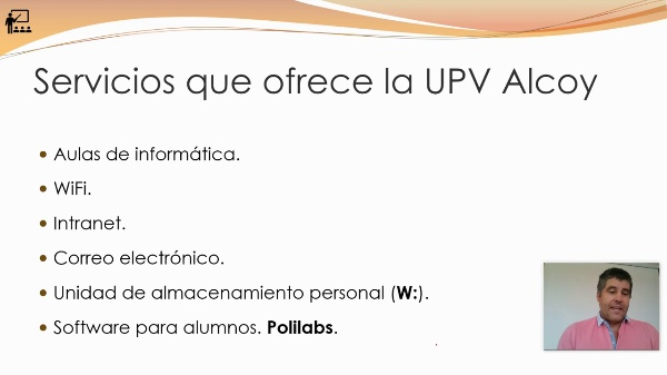 Recursos informáticos UPV Campus de Alcoy