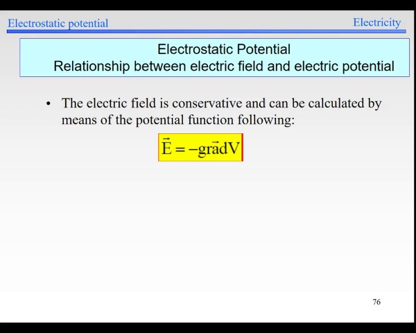 Elec-1-Potential-S76-Potential and Field