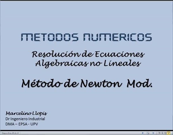 MN-EA-09-14 Método de Newton Modificado