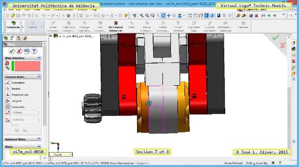 Creación Virtual Modelo Lego Technic - Isogawa ¿ ev3-0050 ¿ 7 de 9