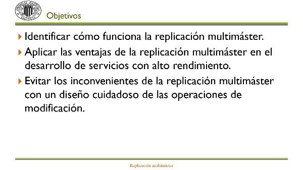 Replicación multi-máster