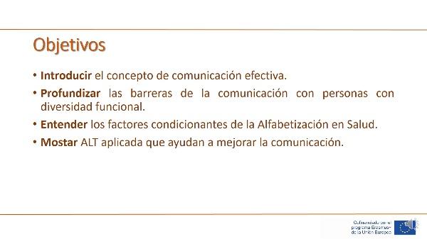 Unidad 3 - Lección 4 - Comunicación efectiva