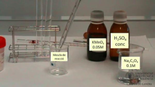 Velocitat d'una reacció química: Efecte de la presència d'un catalitzador