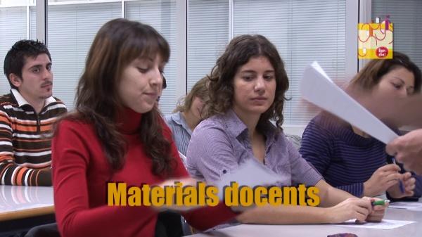 Espot de les ajudes per a l'elaboració de nous materials docents per als títols de grau