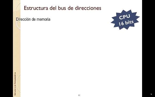 TEMA 5. Memoria. Selección de bytes