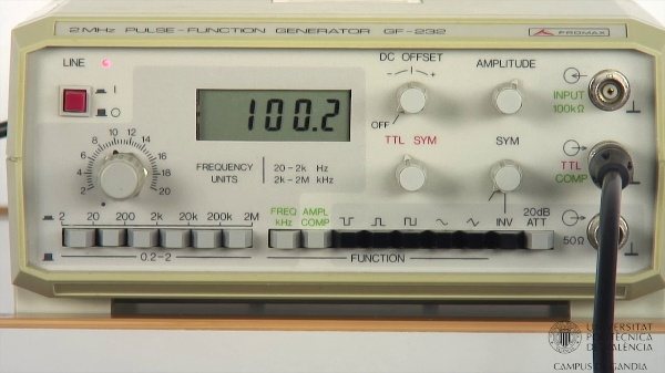 Generador de Funciones. Simetría TTL