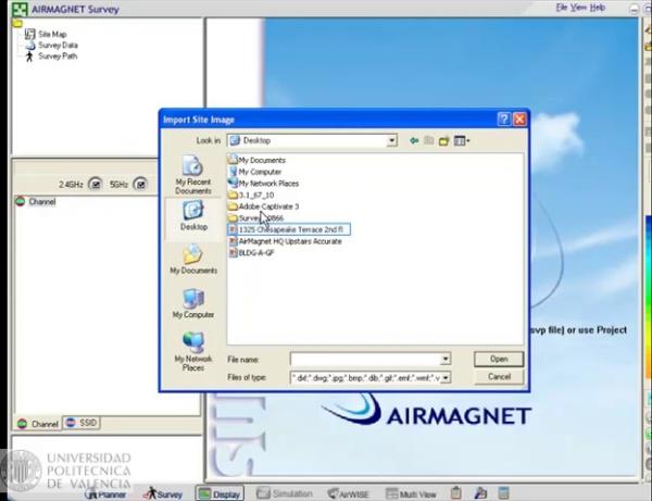 Airmagnet Planner