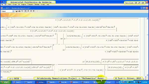 Solución Cinemática Simbólica a_c_0658 con Mathematica -A- 10 de 10