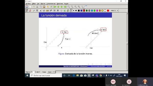 Matemáticas 1 GIOI grupo V  Clase 17