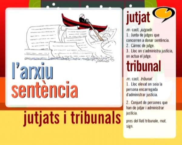 Jutjats i tribunals