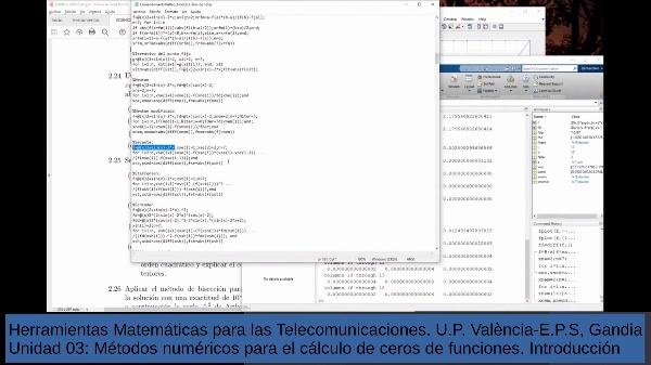 Métodos numéricos de búsqueda de ceros de funciones - 3a Clase introductoria - trabajos - parte 2
