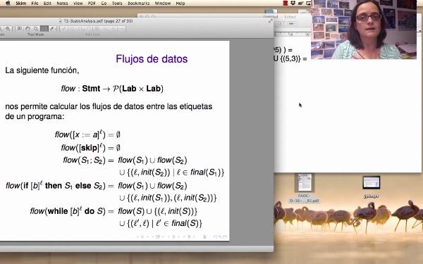AVD - Análisis estático - Ejemplo con la función flow
