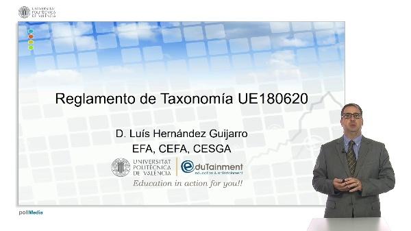 Reglamento de Taxonomía UE18062020