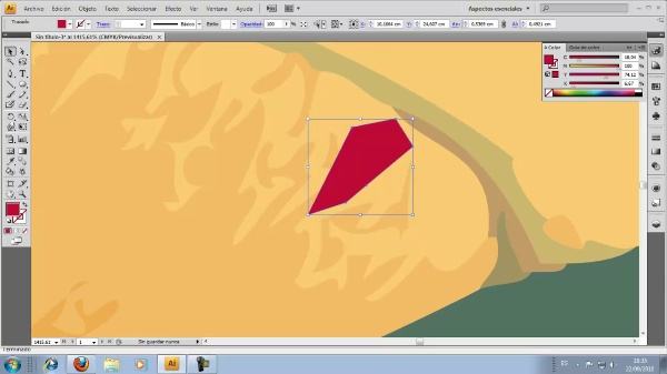 Illustrator CS4. Pluma