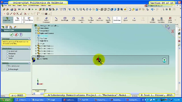 Simulación Mecanismo a_c_0683 con Mechanica - 04 de 19
