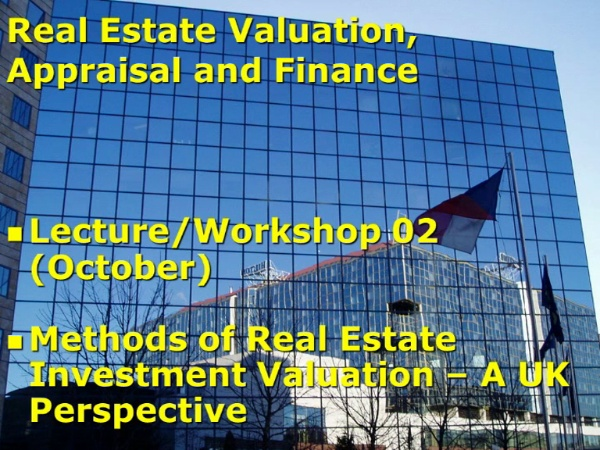 Clase CRS Investment market behaviour.28/10/11Parte3