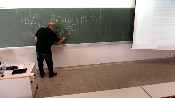 Física 1. Lección 3, Problema complementario 2