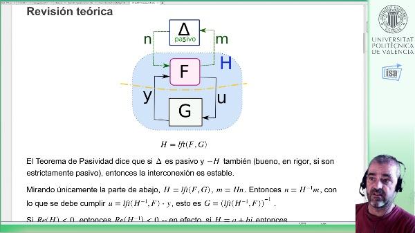Exceso de pasividad (1.-input, 2.-output): ejemplo LFT Matlab