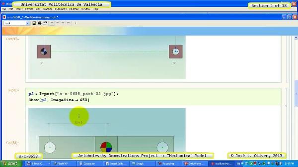 Simulación Mecanismo a_c_0658 con Mechanica - 05 de 18