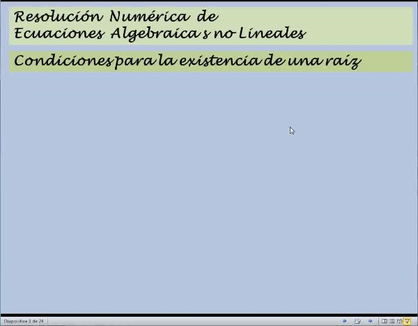MN-EA-08-01 Resolución Ecuaciones Algebraicas