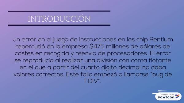 Bug de FDIV en chips pentium