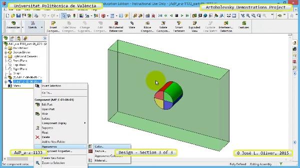 Creación Virtual Mecanismo a-z-1133 con Solidworks - 3 de 3