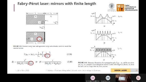 Photonic ICs: from tech to biz - Week 7 - Design Lasers / Part 2