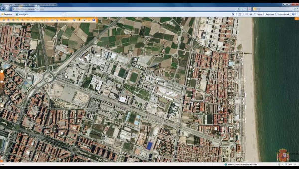 Mapa de fondo en EPANET