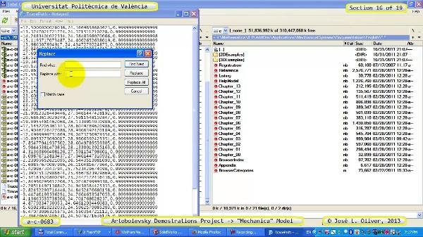Simulación Mecanismo a_c_0683 con Mechanica - 16 de 19