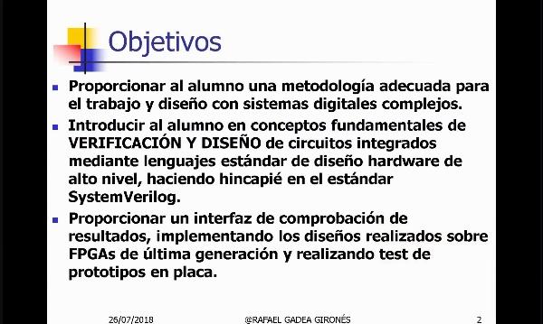 Integración de Sistemas Digitales