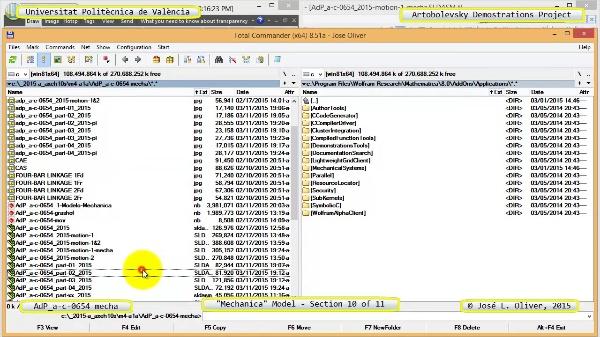 Simulación Mecanismo a-c-0654 con Mechanica - 10 de 11