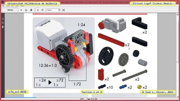 Creación Virtual Modelo Lego Technic - Isogawa ¿ ev3-0050 ¿ 1 de 9