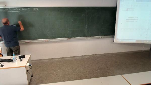 Física 1. Lección 3. Movimiento circular uniforme, planteamiento general y posición