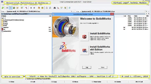 vLTm start how-to-install-solidoworks-2007-software-UPV-win8 no-audio 1 of 2