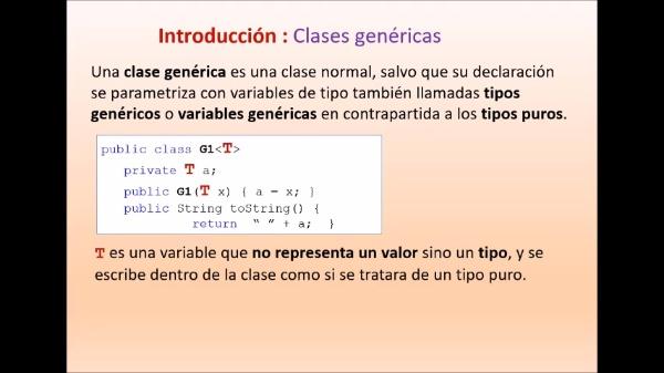 Práctica 2 LTP: Genericidad (Java)