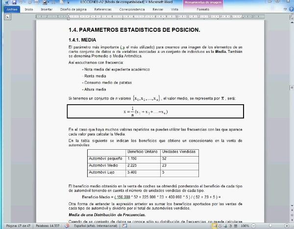 P-EST-05-E2 parámetros media 1