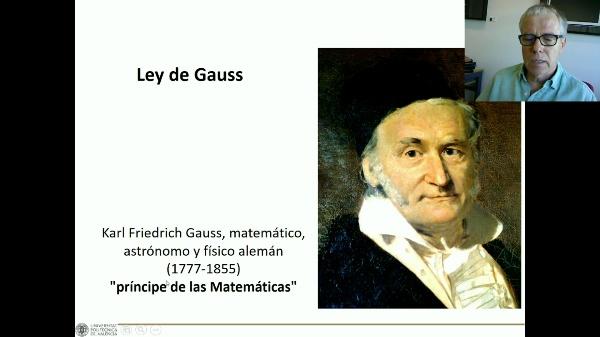 Ley de Gauss de la electrostática C