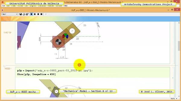 Simulación Mecanismo a-c-0683 con Mechanica - 08 de 13